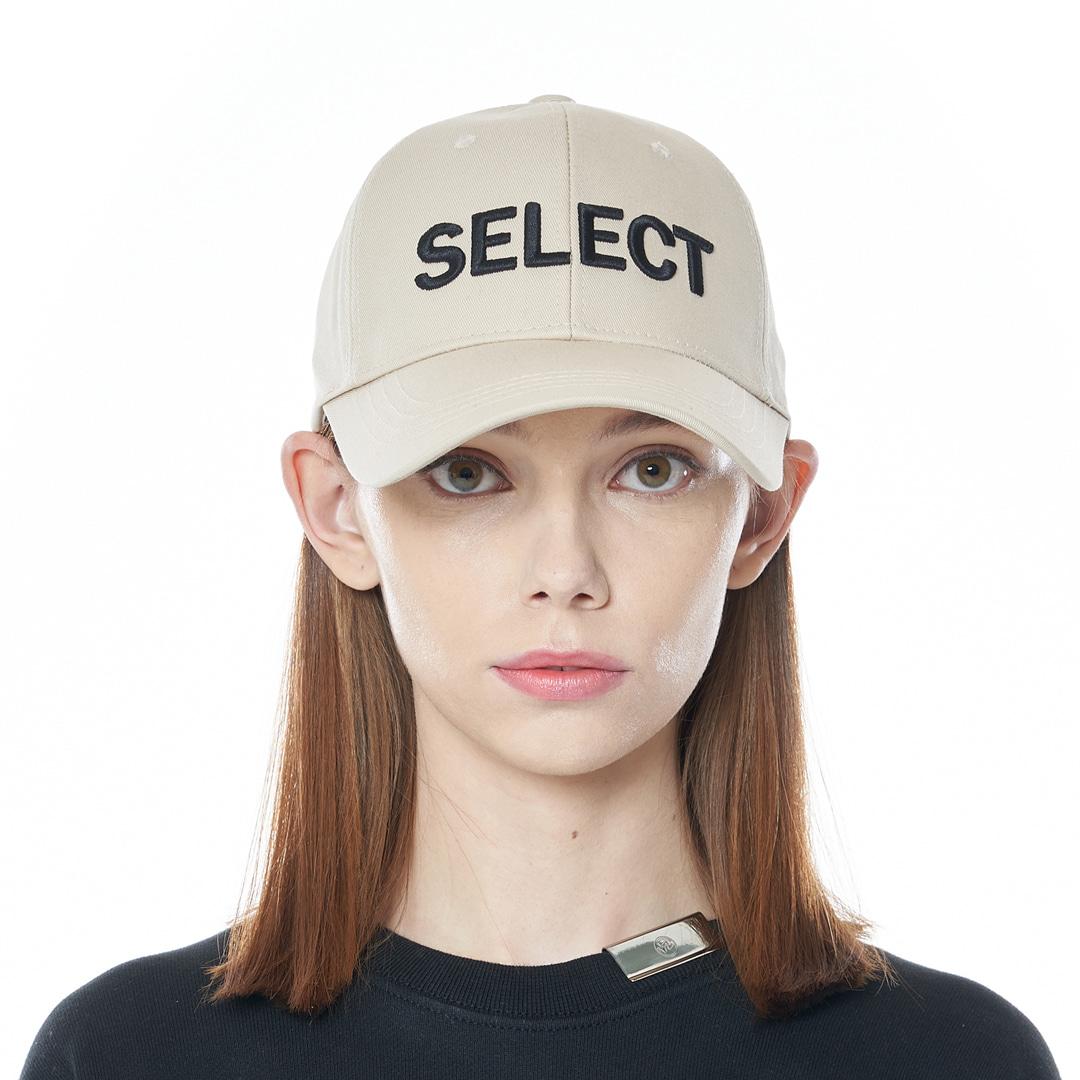 """SELECT"" Cap (Beige)"