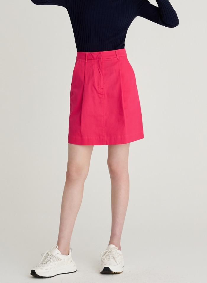 Bowie cotton skirt