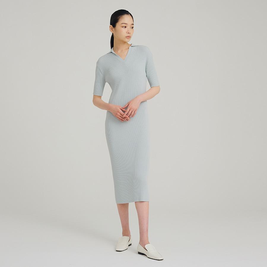 Cooling collar dress