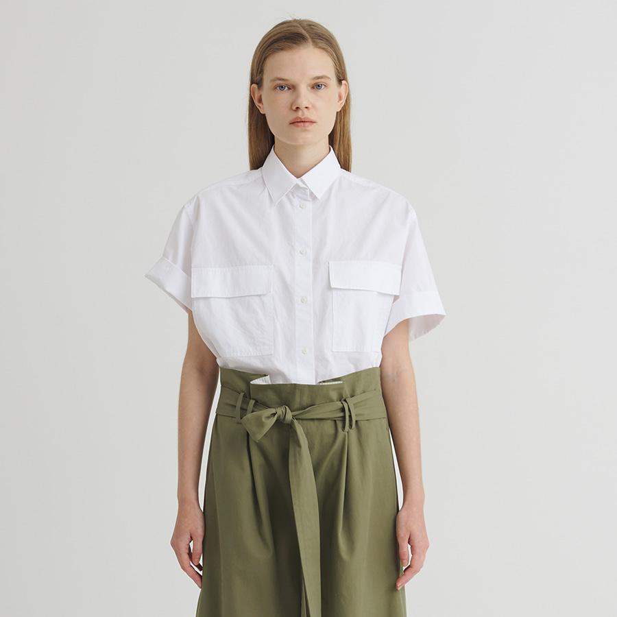 21 Bibi crop shirt