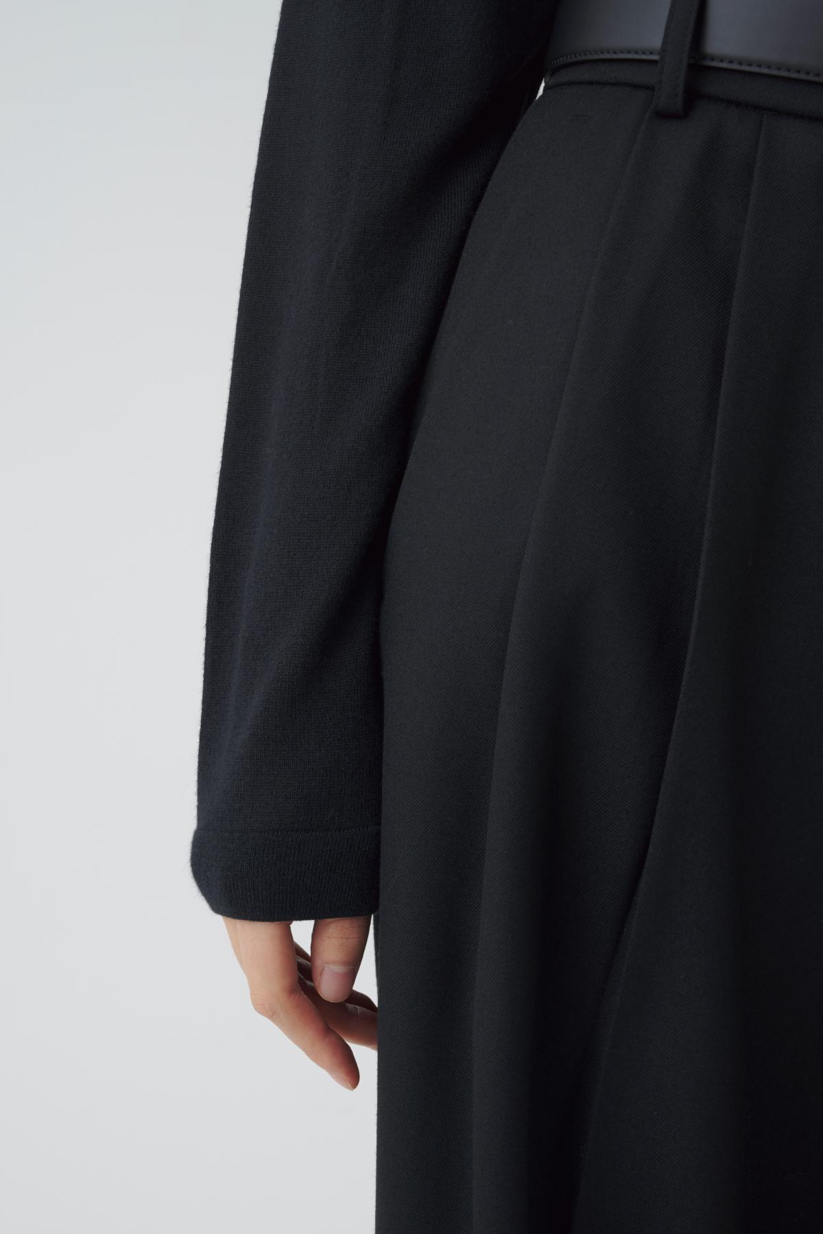 멜빵 스커트/바지 모델 착용 이미지-S1L37