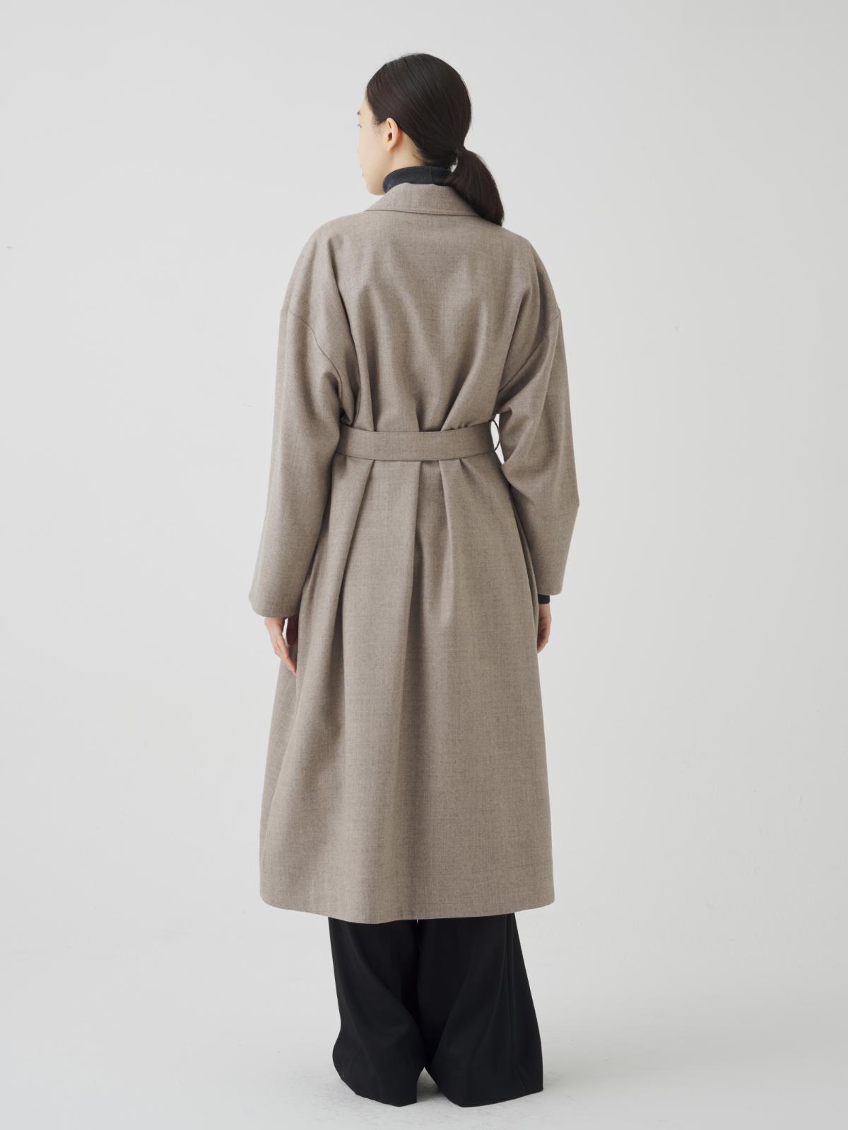 코트 모델 착용 이미지-S1L24