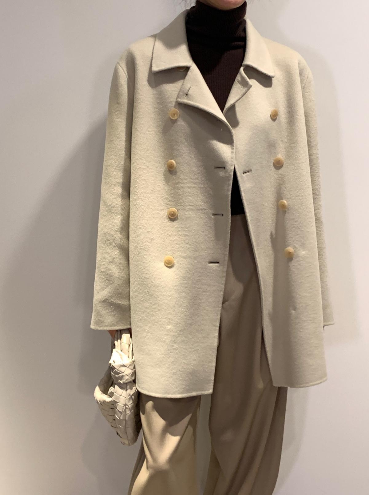 코트 모델 착용 이미지-S1L45