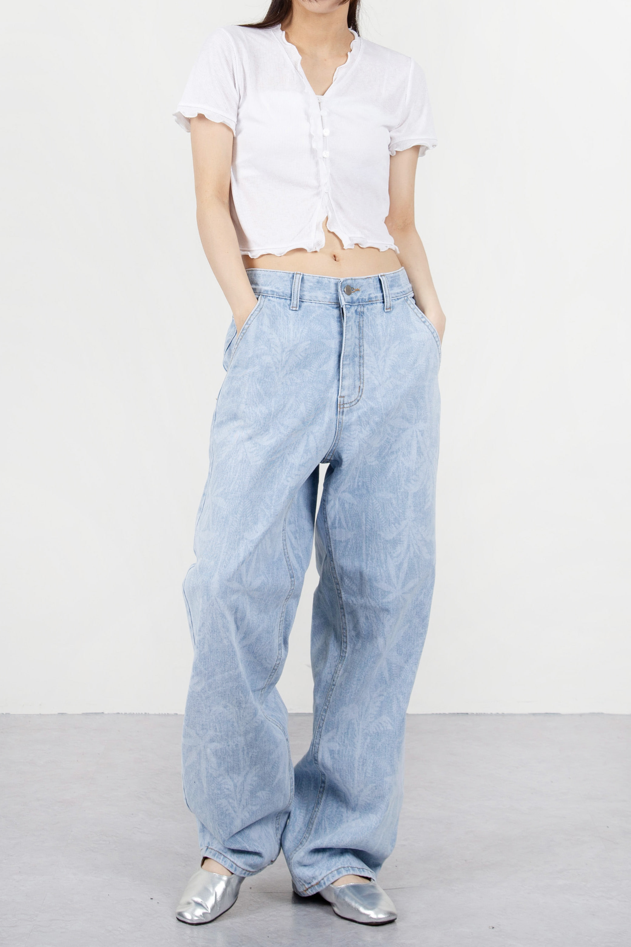 TROPICAL WASH JEANS