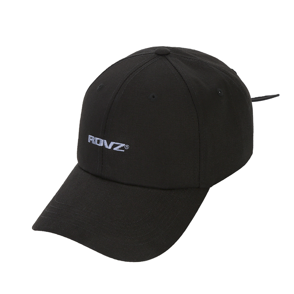 랑데부 STRING BALL CAP BLACK