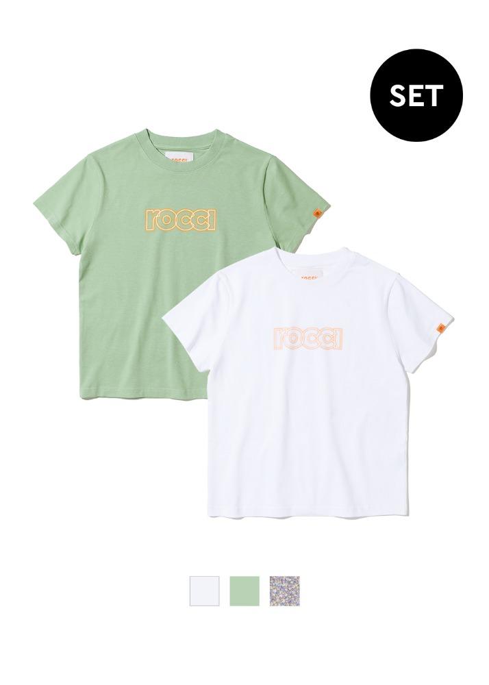 [1+1] 로씨 그라데이션 세미 타이트핏 티셔츠 2pack[1+1] 로씨 그라데이션 세미 타이트핏 티셔츠 2pack자체브랜드