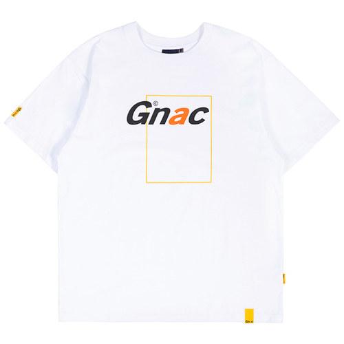 GNAC FRAME LOGO TEE_WHITE