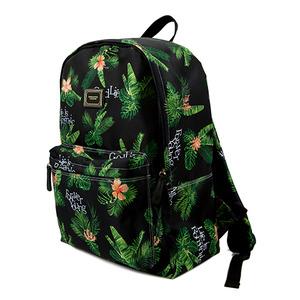 Tropical Backpack_Black
