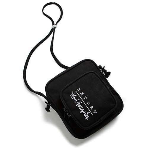[R.C X M.G]Pocket Cross Bag_Black