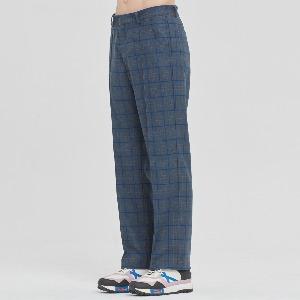 FRIDAY CHECK DRESS PANTS_BLUE