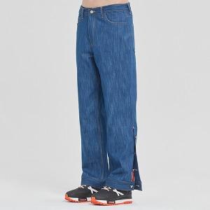 CEREMONY TAPE BUTTON PANTS_BLUE