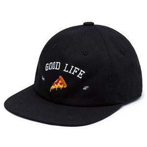 [PIZZAHUT X RMTCRW]GOOD LIFE BALL CAP_BLACK