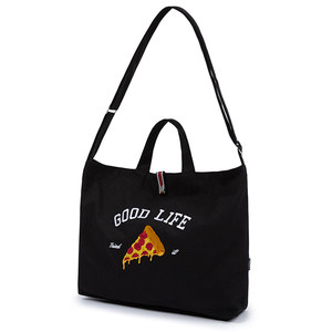 [PIZZAHUT X RMTCRW]GOOD LIFE CROSS BAG_BLACK