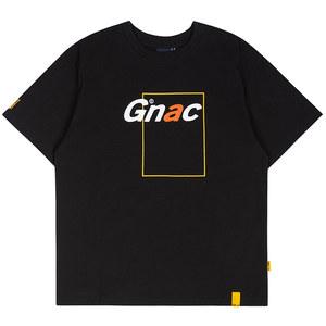 GNAC FRAME LOGO TEE_BLACK