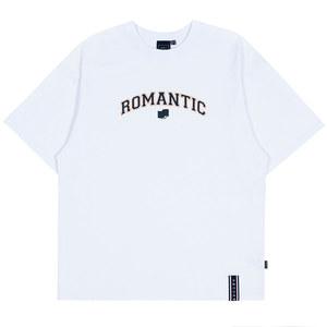 ROMANTIC ARCH LOGO TEE_WHITE