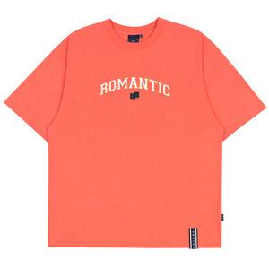 ROMANTIC ARCH LOGO TEE_CORAL