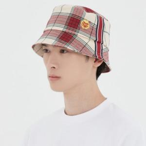 [CHUPA CHUPS X RMTCRW]CHECK BUCKET HAT_OATMEAL