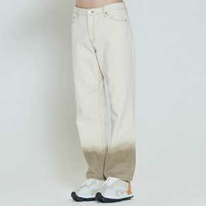 COLOR DYEING PANTS_OATMEAL