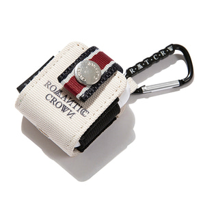 CEREMONY TAPE AirPods CASE_OATMEAL