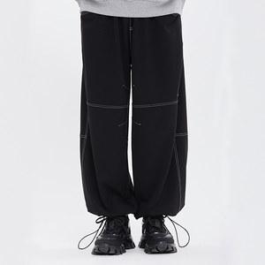 [9/24 예약발송]WIDE STRING PANTS_BLACK