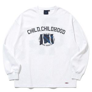 CHILDHOOD LONG SLEEVE_WHITE