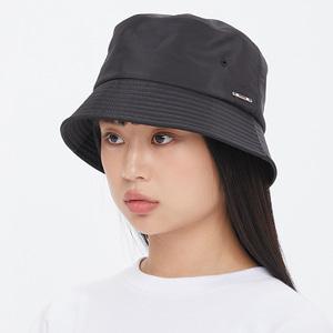 GLOSS BUCKET HAT_BLACK