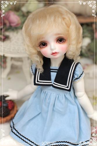 Mohair - Eliza roll (Blond)