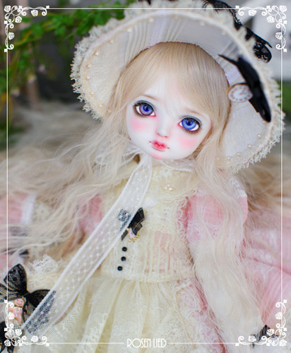 Holiday's Child Limited Ribbon - For I.Doll vol. 48