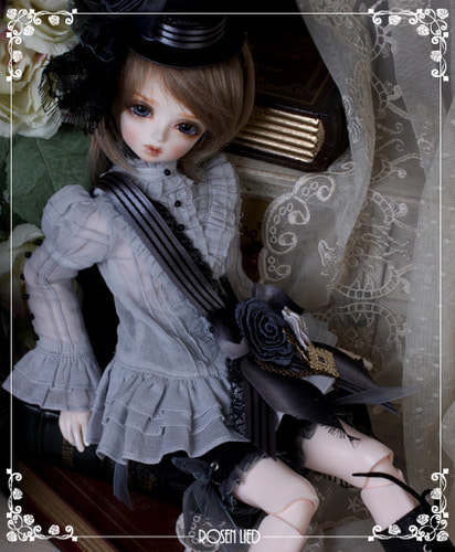 Wednesday's Child Limited Louie - Blue rose