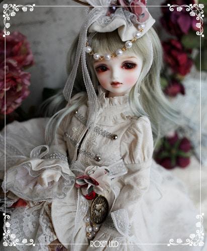 Wednesday's Child Limited Jerome - White rabbit (ver. girl)