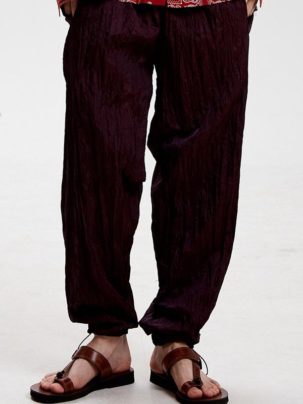 wrinkle pants - WI