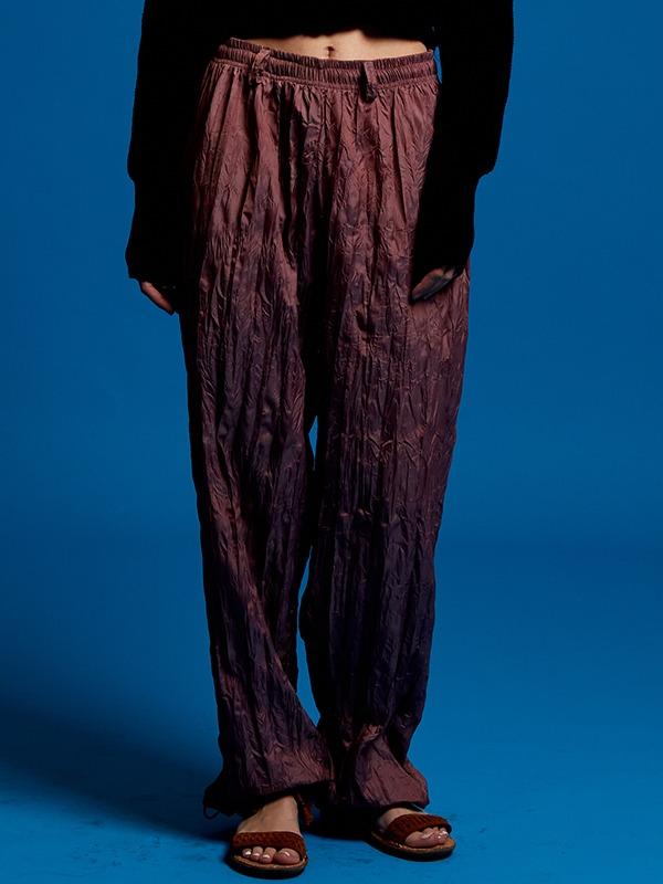 wrinkle pants - PK
