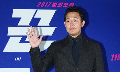 박성웅 (영화 '꾼' 언론시사회)