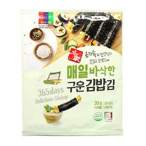 바삭구운김밥김 10매
