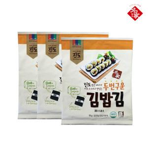 [명가] 진도 두번구운 김밥김 18G × 3봉