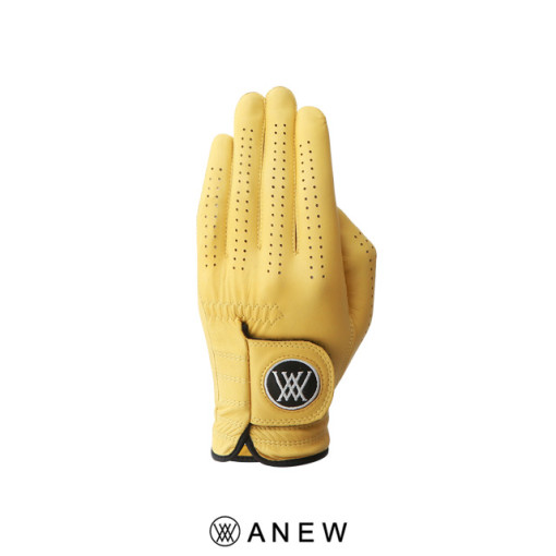 M Logo Colour Left Only Glove_Yellow