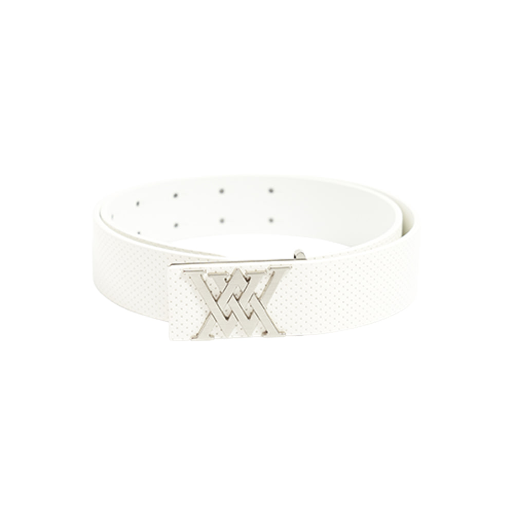 W Perforated New logo Belt_WH