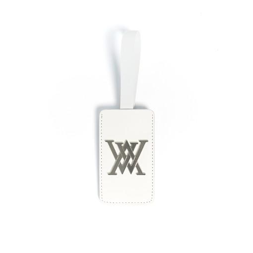 New logo decoration name tag _White