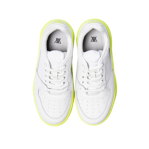 Golf Shoes _White/Lime