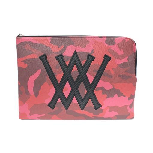 Red Camo Clutch Bag