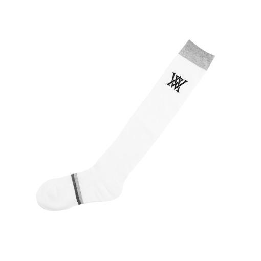 Basic Over  Knee high socks_WH