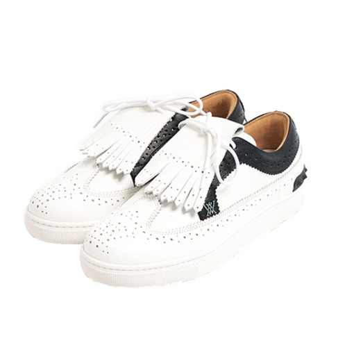 (예약판매)Golf Shoes Tassle Sunflower01_BK