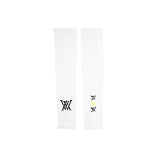 Big logo Arm Sleeves_WH