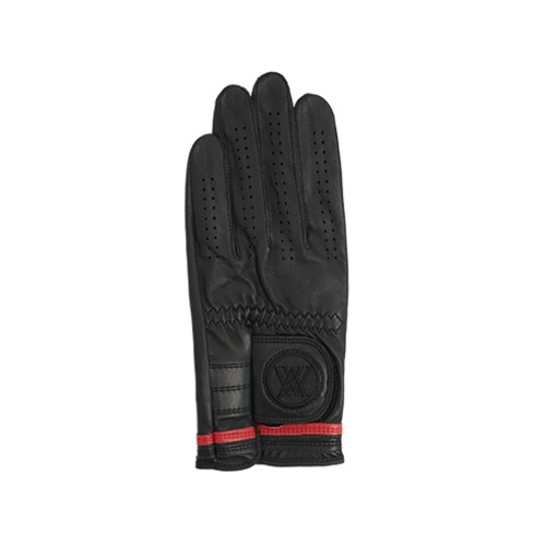 W Two Line Only Glove_BK
