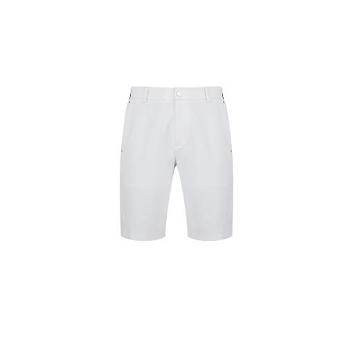 M B Pocket Perforated Half-Pants_WH