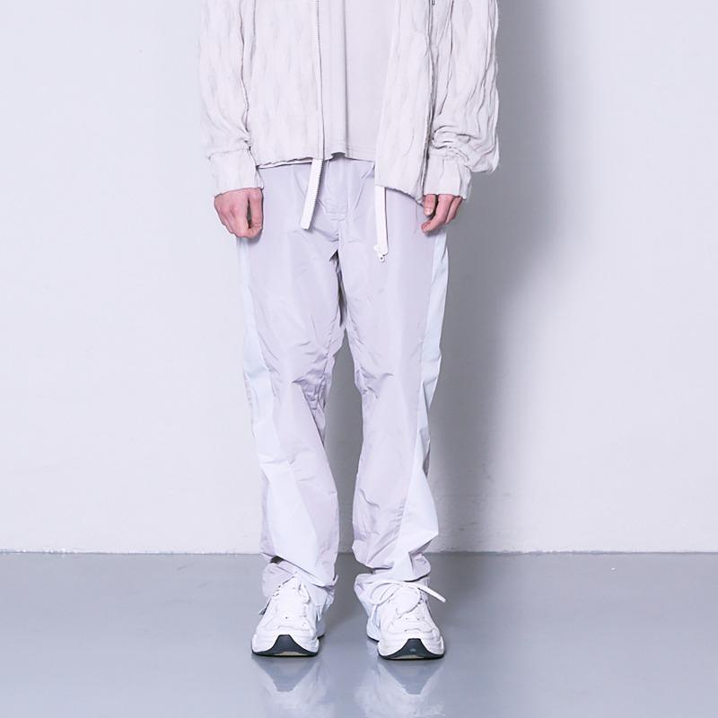 [NONDISCLOTHES : 논디스클로즈] Training slit pants pale pink