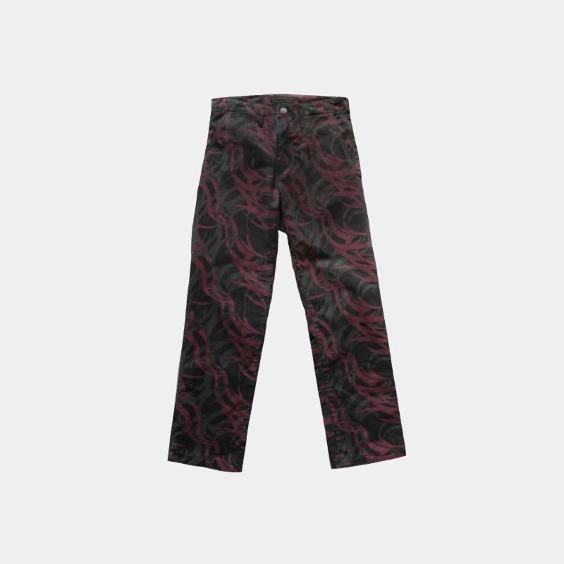 [SIBERIA HILLS : 시베리아 힐스] 'HAZZARD' Camo Pattern Slim Fit Pants