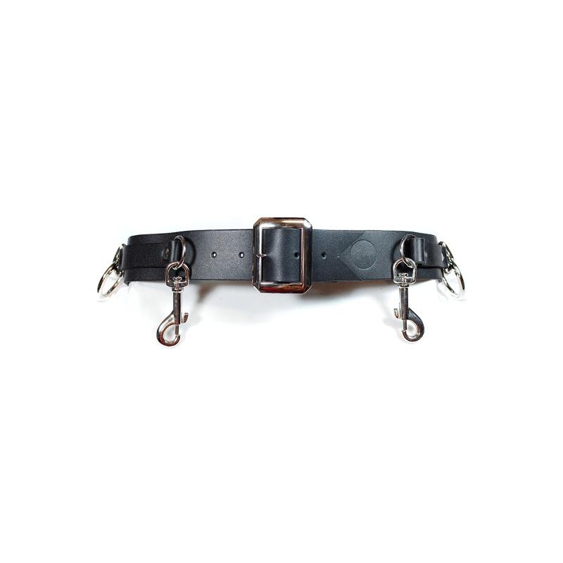 [HOMME BOY CO : 옴므보이] Acc.5B Bondage Ring Belt Black