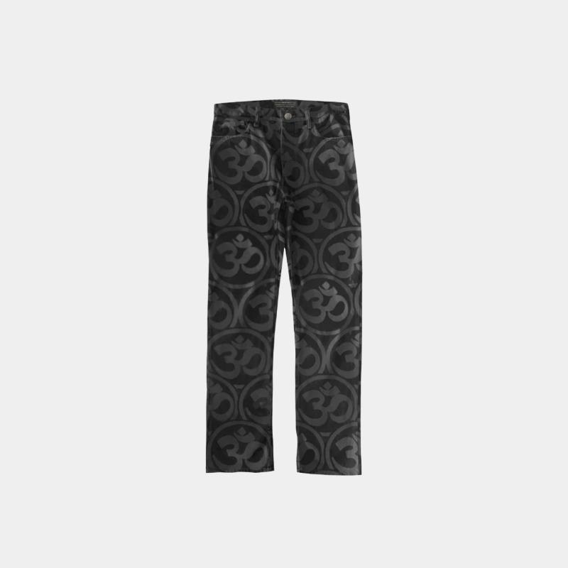 [SIBERIA HILLS : 시베리아 힐스] 'OHM' Pattern Slim Fit Pants