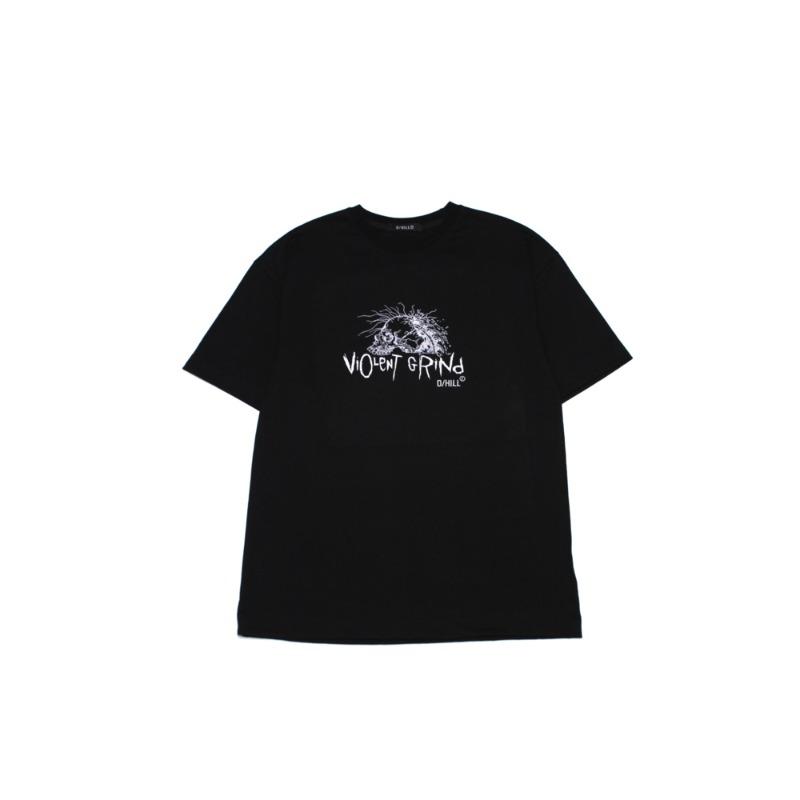 "[D/HILL : 다운힐] ""VIOLENT GRIND"" Short Sleeve T-shirt"